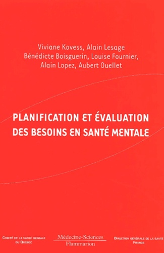 Viviane Kovess et Alain Lesage - .