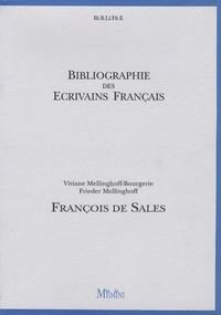Viviane Mellinghoff-Bourgerie et Frieder Mellinghoff - François de Sales.