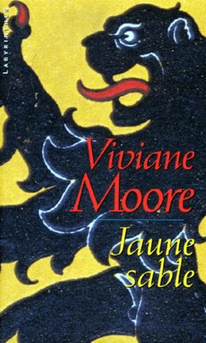 Viviane Moore - Jaune sable.