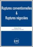 Viviane Stulz - Ruptures conventionnelles & ruptures négociées.