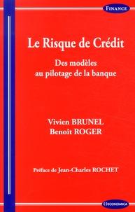 Le risque de crédit- Des modèles au pilotage de la banque - Vivien Brunel |