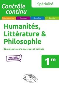Vivien Mirebeau et Sophie Moulin - Spécialité humanités, littérature et philosophie 1re.
