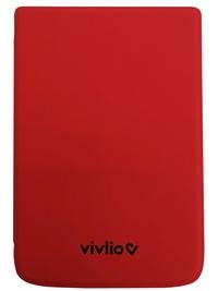 VIVLIO - Housse compatible liseuse Touch Lux 5, Color et HD plus Rouge