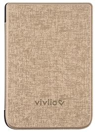 Papeterie Papeterie - Housse liseuse TL4  et Touch HD plus dorée Vivlio.