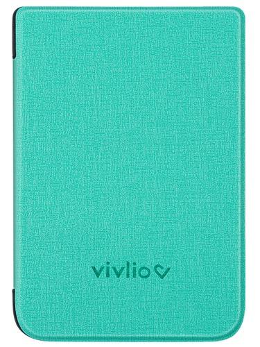 Housse liseuse TL4  et Touch HD plus verte Vivlio