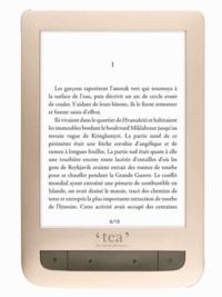 Papeterie Papeterie - Liseuse éclairée Touch Lux 3 Gold TEA.