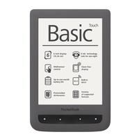 Papeterie Papeterie - Liseuse Pocketbook Basic Touch - Grise foncée.