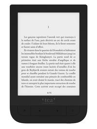 TEA - Liseuse Touch HD.
