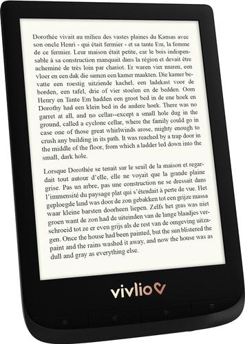 Liseuse touch LUX 4 noire VIVLIO
