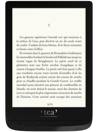 Papeterie Papeterie - Liseuse Touch Lux 4 noire.