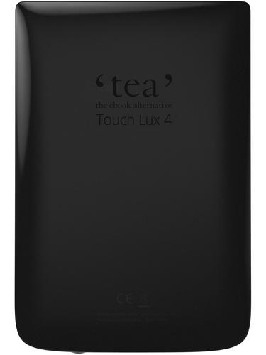 Liseuse Touch Lux 4 noire