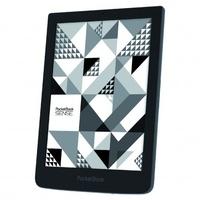 """PocketBook - Pack Liseuse HD 6"""" Front-light Sense + Housse en Cuir Kenzo."""
