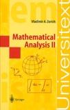 Vladimir-A Zorich - Mathematical Analysis 2.