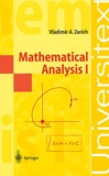 Vladimir-A Zorich - Mathematical Analysis I.