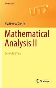 Vladimir A. Zorich - Mathematical Analysis II.