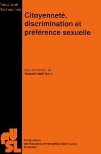 Vladimir Martens - Citoyenneté, discrimination et préférence sexuelle.