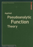 Vladislav V. Kravchenko - Applied Pseudoanalytic Function Theory.