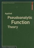 Vladislav V. Kravchenko - Applied Pseudoanalytic Function Theory.