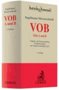 VOB Teile A und B - Vergabe- und Vertragsordnung für Bauleistungen mit Vergabeverordnung (VgV).