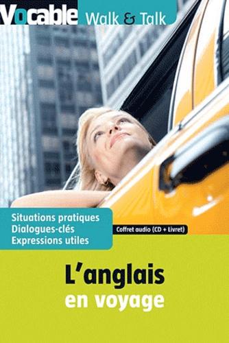 Vocable - L'anglais en voyage - Coffret : livret. 1 CD audio