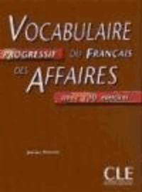 Histoiresdenlire.be Vocabulaire progressif du francais des affaires - Niveau intermediaire. Livre avec 200 exercices Image