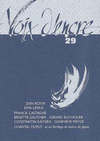 Alain Blanc et  Collectif - Voix d'encre N° 29 : Voix d'encre.