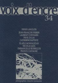 Alain Blanc - Voix d'encre N° 34 : .