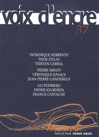 Alain Blanc et Alain Contassot - Voix d'encre N° 37 : .