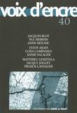 Jacques Blot et William Stanley Merwin - Voix d'encre N° 40 : .