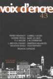 Pierre Dhainaut et Sandro Penna - Voix d'encre N° 43 : .