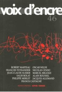 Alain Blanc et Jean-Pierre Chambon - Voix d'encre N° 46 : .