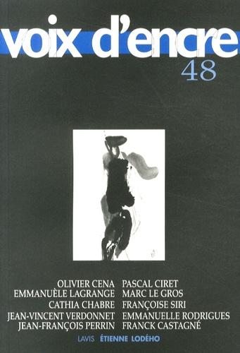 Collectif - Voix d'encre N° 48 : .