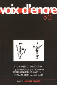 David Ferry et Jean-Pierre Gandebeuf - Voix d'encre N° 52 : .