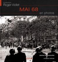 Volcy Loustau et Janine Casavecchie - Mai 68 en photos.