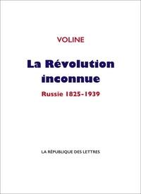 Voline Voline - La Révolution inconnue.
