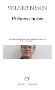 Volker Braun - Poèmes choisis.
