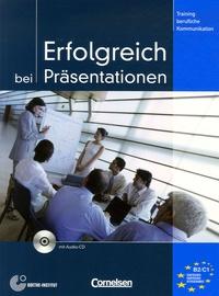 Volker Eismann - Erfolgreich bei Präsentationen - Trainingsmodul. 1 CD audio