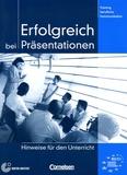 Volker Eismann - Erfolgreich bei Präsentationen - Hinweise fûr den Unterricht.