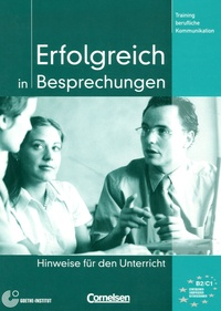 Volker Eismann - Erfolgreich in Besprechungen - Hinweise fûr den Unterricht.