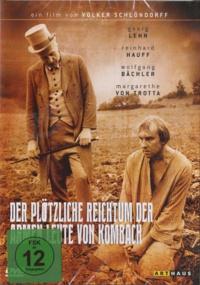 Volker Schlöndorff - Der Plötzliche Reichtum der Armen Leute Von Kombach - DVD.