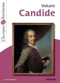 Voltaire et  Voltaire - Candide - Classiques et Patrimoine.
