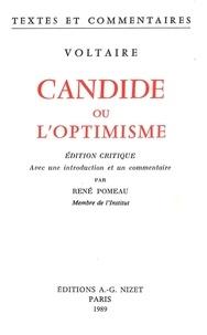 Voltaire et René Pomeau - Candide ou l'optimisme.