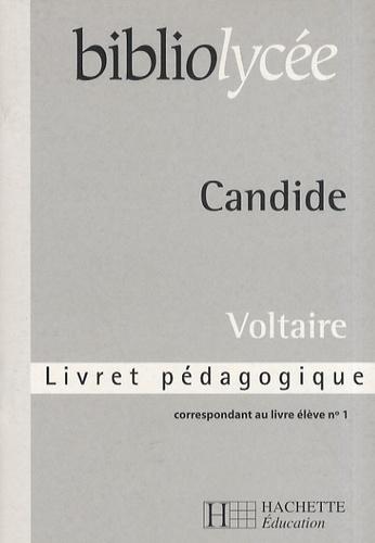 Voltaire - Candide - Livret pédagogique.