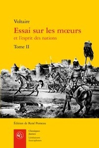 Voltaire - Essai sur les moeurs et l'esprit des nations - Tome 2.