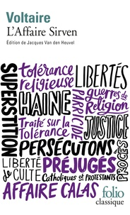 Voltaire - L'Affaire Sirven.