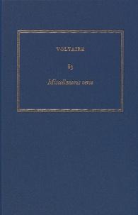 Deedr.fr Les oeuvres complètes de Voltaire - Tome 83, Miscellaneous verse Image