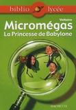 Voltaire - Micromégas - La Princesse de Babylone.