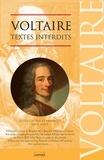 Voltaire - Voltaire - Textes interdits.