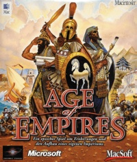 Macsoft - Age of Empires. - Version allemande, CD-ROM.