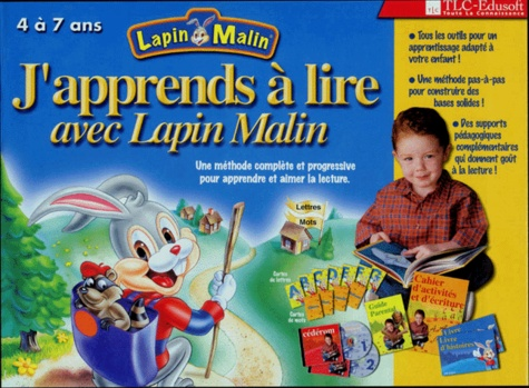 Lapin malin, La fête foraine 3/4 ans. CD-ROM - Collectif